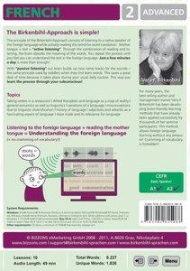 Birkenbihl Sprachen: Brain-friendly French CD-ROM Part 2. Advanc