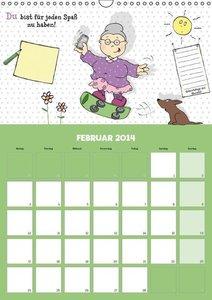 Oma ist die Beste (Wandkalender 2014 DIN A3 hoch)
