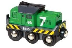 Brio 33214 - Batterie-Frachtlok
