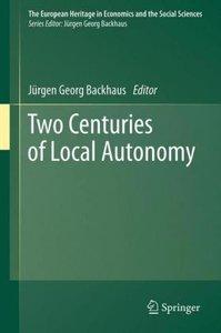 Two Centuries of Local Autonomy