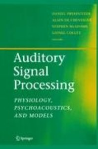 Auditory Signal Processing