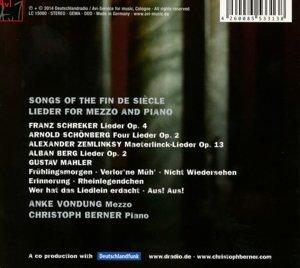 Fin De Siecle-Lieder Für Mezzo & Piano
