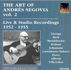 Die Kunst des A.Segovia Vol.2