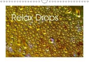 Relax Drops (Wall Calendar 2015 DIN A4 Landscape)