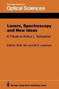Lasers, Spectroscopy and New Ideas