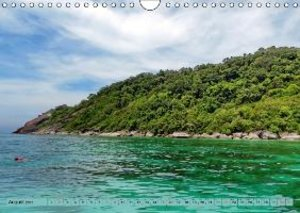 SIMILAN ISLANDS (Wall Calendar 2015 DIN A4 Landscape)