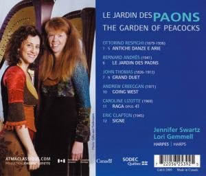 The Garden of Peacocks (Music for 2 harps)