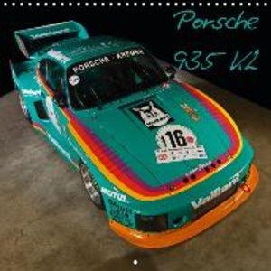 Porsche 935 K2 (Wall Calendar 2015 300 × 300 mm Square)