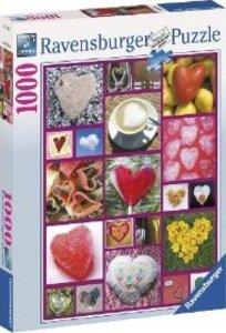 Herzen. Puzzle 1000 Teile