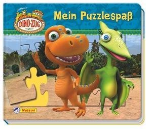 Dino-Zug: Mein Puzzlespaß