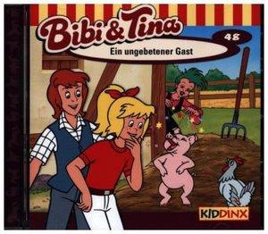 Bibi und Tina 48. Ein ungebetener Gast. CD