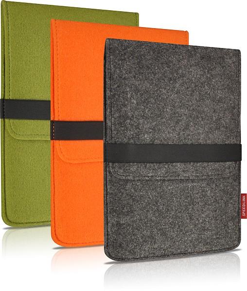 Speedlink ALUNY Felt Sleeve, 7 inch, Schutztasche, grau - zum Schließen ins Bild klicken