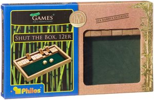 Philos 3271 - Shut The Box 12er, Bambus
