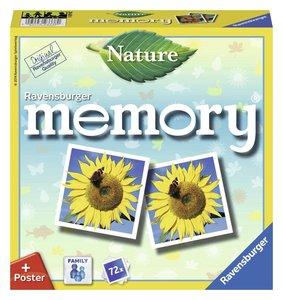 Ravensburger 26633 - Natur memory, Tiere und Pflanzen