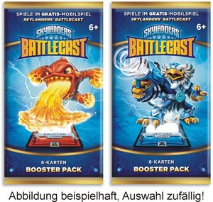 Skylanders Battlecast Booster Pack F