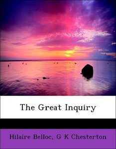 The Great Inquiry