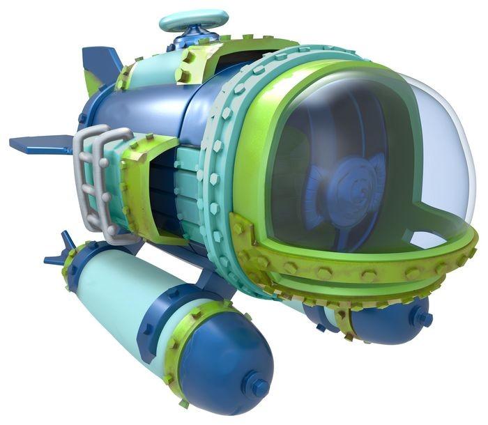 Skylanders SuperChargers: Fahrzeug - Dive Bomber - zum Schließen ins Bild klicken
