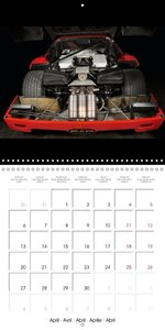 Ferrari F40 LM (Wall Calendar 2015 300 × 300 mm Square)