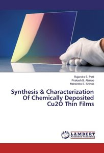 Synthesis & Characterization Of Chemically Deposited Cu2O Thin F