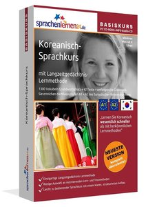 Sprachenlernen24.de Koreanisch-Basis-Sprachkurs. CD-ROM