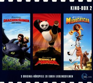 Kino-Box 2. Drachenzähmen leicht gemacht / Kung Fu Panda / Madag