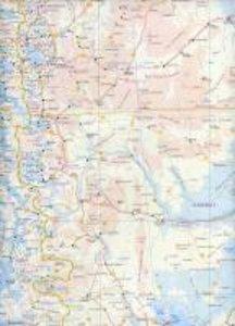 Patagonia & Tierra Del Fuego 1 : 2 000 000 / 1 : 750 000