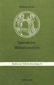 Interaktive Melodieanalyse