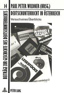Deutschunterricht in Österreich