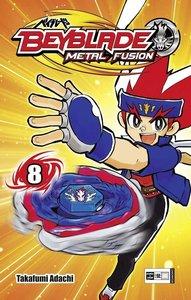 Adachi, T: Beyblade: Metal Fusion 08