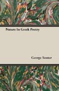 Nature In Greek Poetry