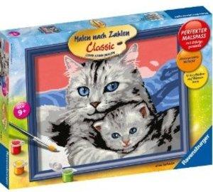 Ravensburger 28390 - Katzenliebe, MNZ, Malen nach Zahlen