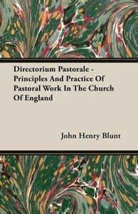 Directorium Pastorale - Principles And Practice Of Pastoral Work