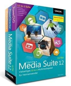 Cyberlink Media Suite 12 Ultra Home&Student. Für Windows XP/Vist