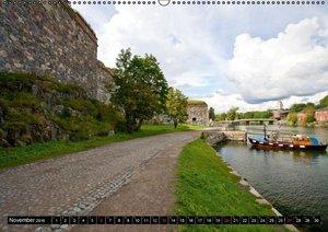 FINNLAND - Traumhafte Landschaften (Wandkalender 2016 DIN A2 que