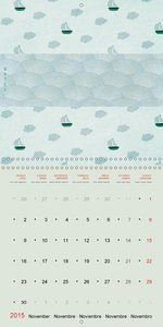A very British year (Wall Calendar 2015 300 × 300 mm Square)
