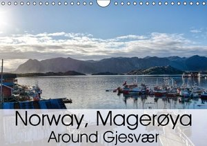 Norway Magerøya: Around Gjesvær (Wall Calendar 2015 DIN A4 Lands