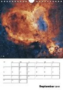 Beauty in space (Wall Calendar 2015 DIN A4 Portrait)