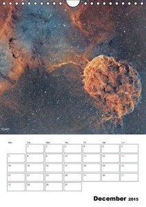 Beauty in space (Wall Calendar 2015 DIN A4 Portrait)