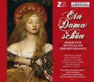 Ein Dama Schön-Musik Mittelalter Zur Renaissance