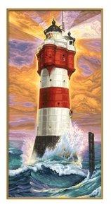 Schipper 609220399 - Leuchtturm Roter Sand, MNZ, Malen nach Zahl