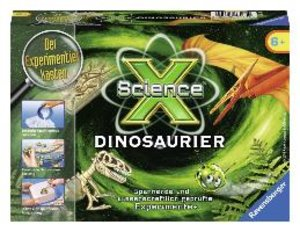 Ravensburger 18175 - ScienceX: Dinosaurier