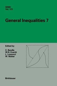 General Inequalities 7