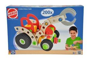 Eichhorn 100039043 - Heros: Constructor Traktor mit Greifer