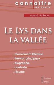 Fiche de lecture Le Lys dans la vallée (Analyse littéraire de ré