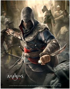 Assassins Creed Wallscroll / Banner - Fight your way