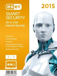 ESET Smart Security 2015 Edition (1PC/1Jahr) (FFP)
