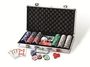 Nürnberger Spielkarten 9202 - PokerSet Deluxe mit 300 Chips je 1