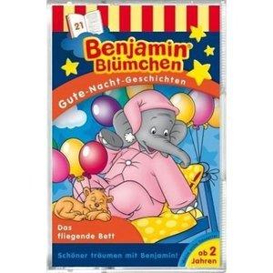 Benjamin Blümchen. Gute-Nacht-Geschichten 21. Das fliegende Bett