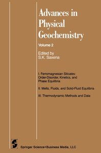 Advances in Physical Geochemistry