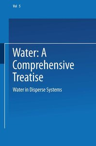Water in Disperse Systems